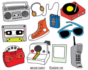 eighties clipart - clipground