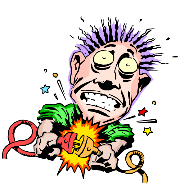 electric shock clipart - clipground