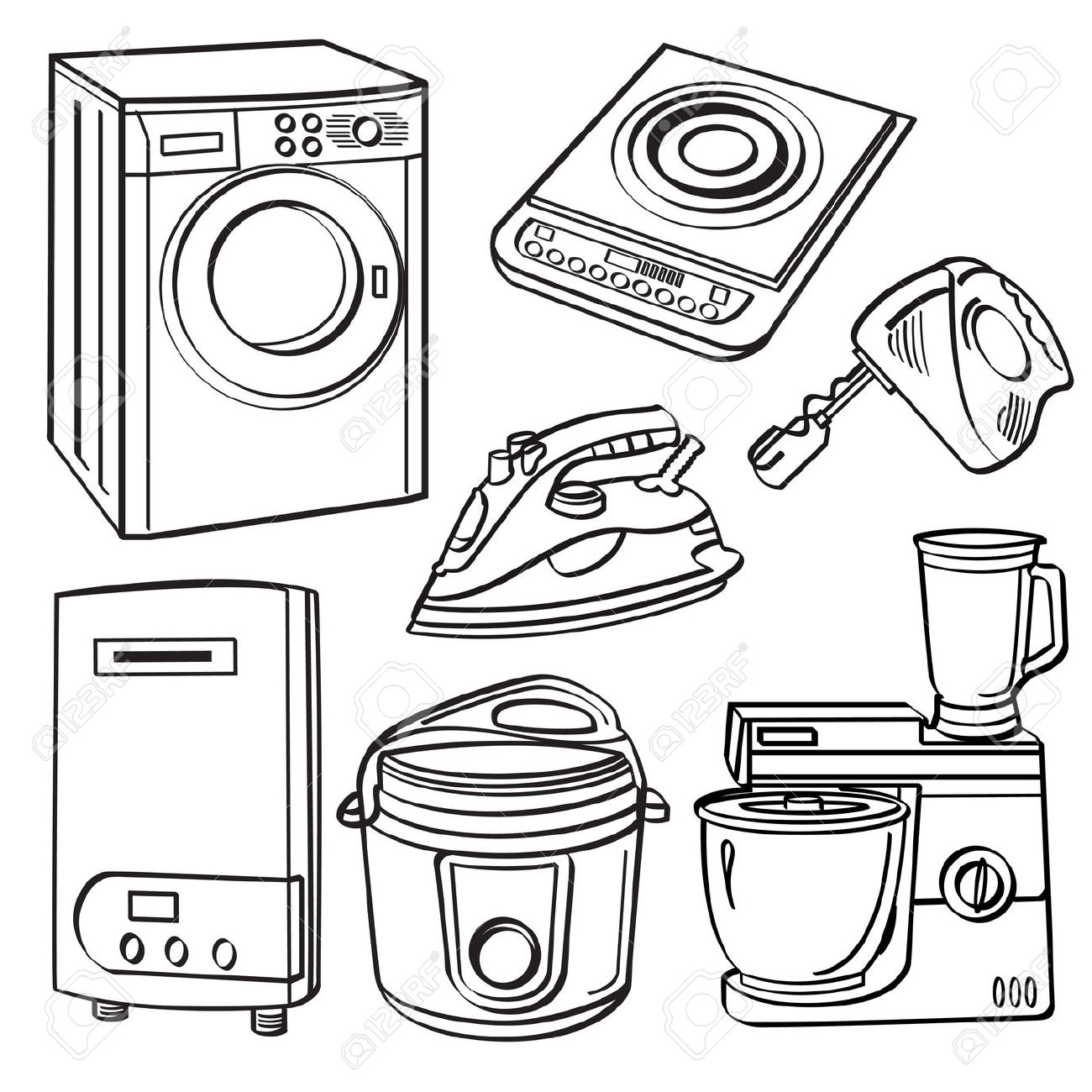 Electrical Appliances Clipart 20 Free Cliparts
