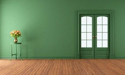 Empty Living Room Clipart