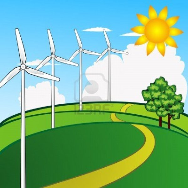 Wind Energy Clipart - Clipground