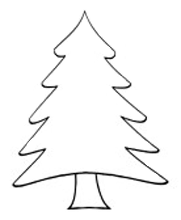 evergreen tree clipart black and white 20 free Cliparts
