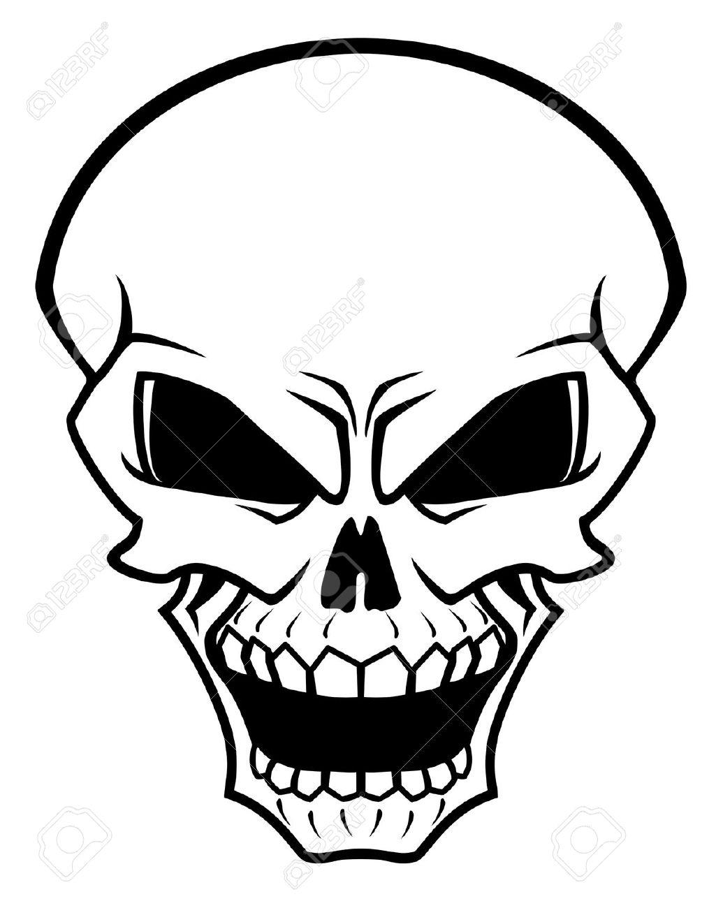 Evil Skeleton Body Clipart