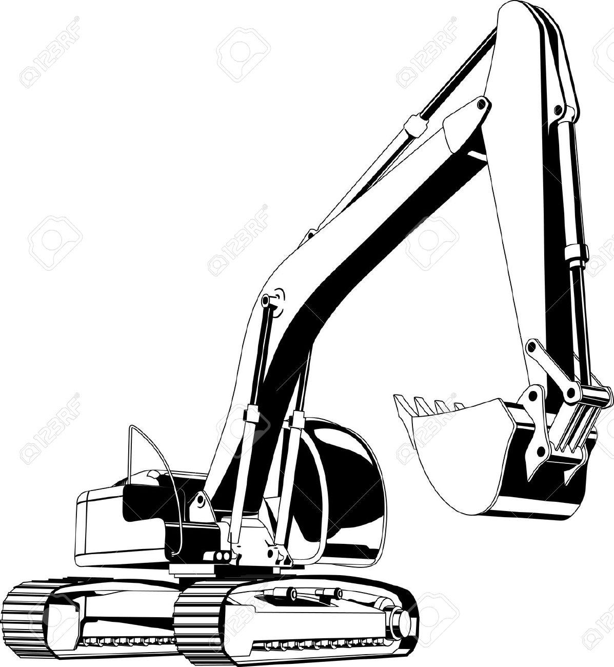 Excavator Buckets Clipart
