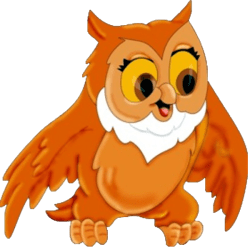 owl cartoon background clipart transparent clip eyes paper birds funny animated bird clipground simple cliparts перейти drawing clipartmag