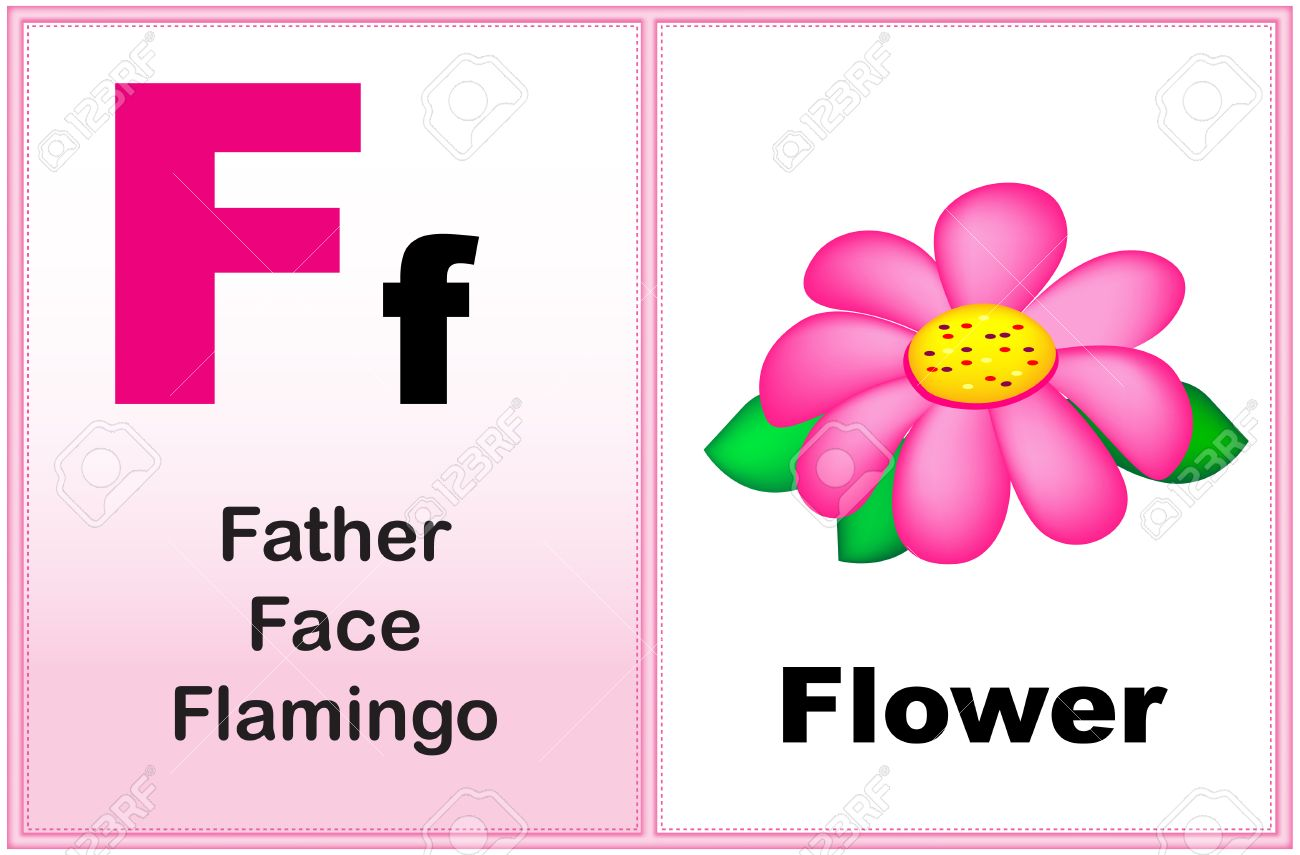 F Words For Kids Clipart