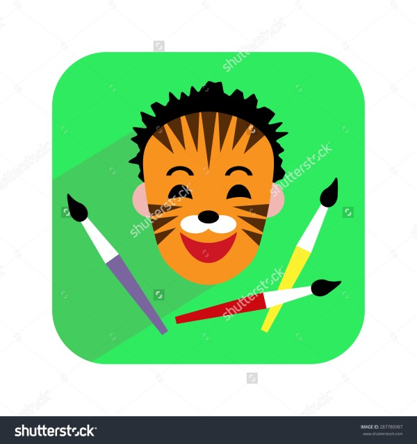 Face Paint Clipart - Clipground