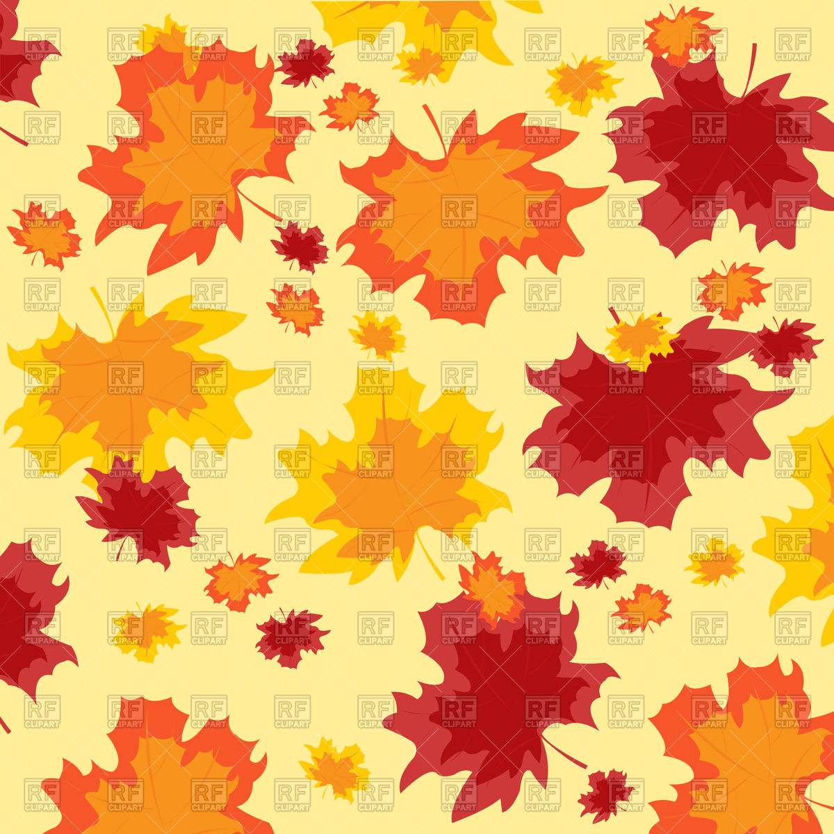 Fall Leaves Wallpaper Border Fall Backgrounds Clipart Clipground