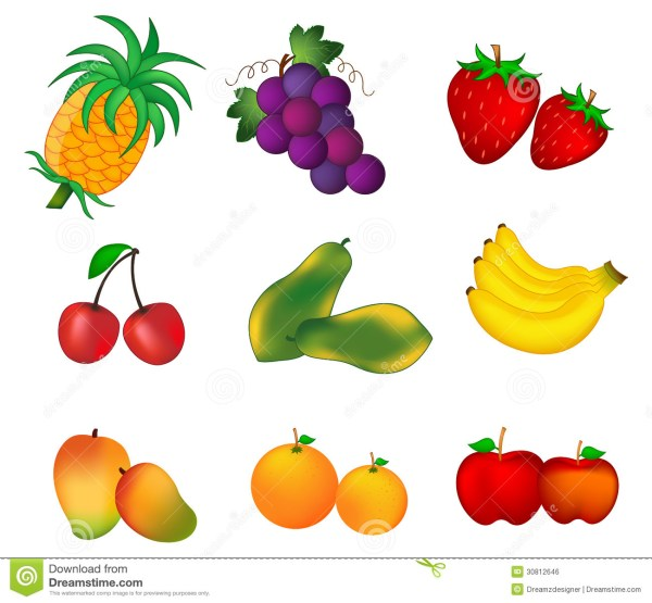 fall fruit clipart - clipground