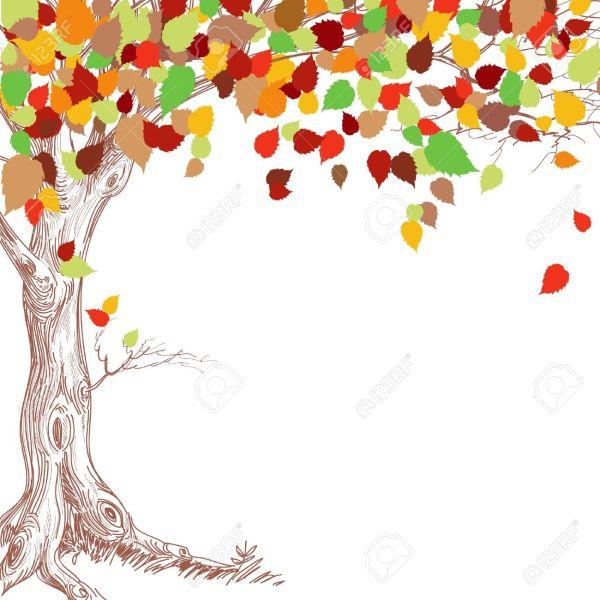 fall tree border clipart 20 free