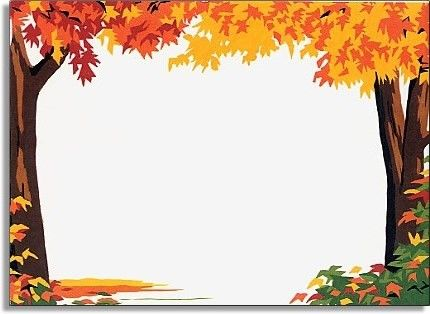 fall tree border clipart 20 free
