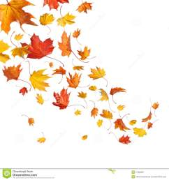 animated falling leaves clipart  [ 1300 x 1390 Pixel ]