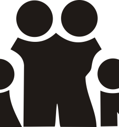 family black and white family clipart clipart club  [ 2400 x 1733 Pixel ]