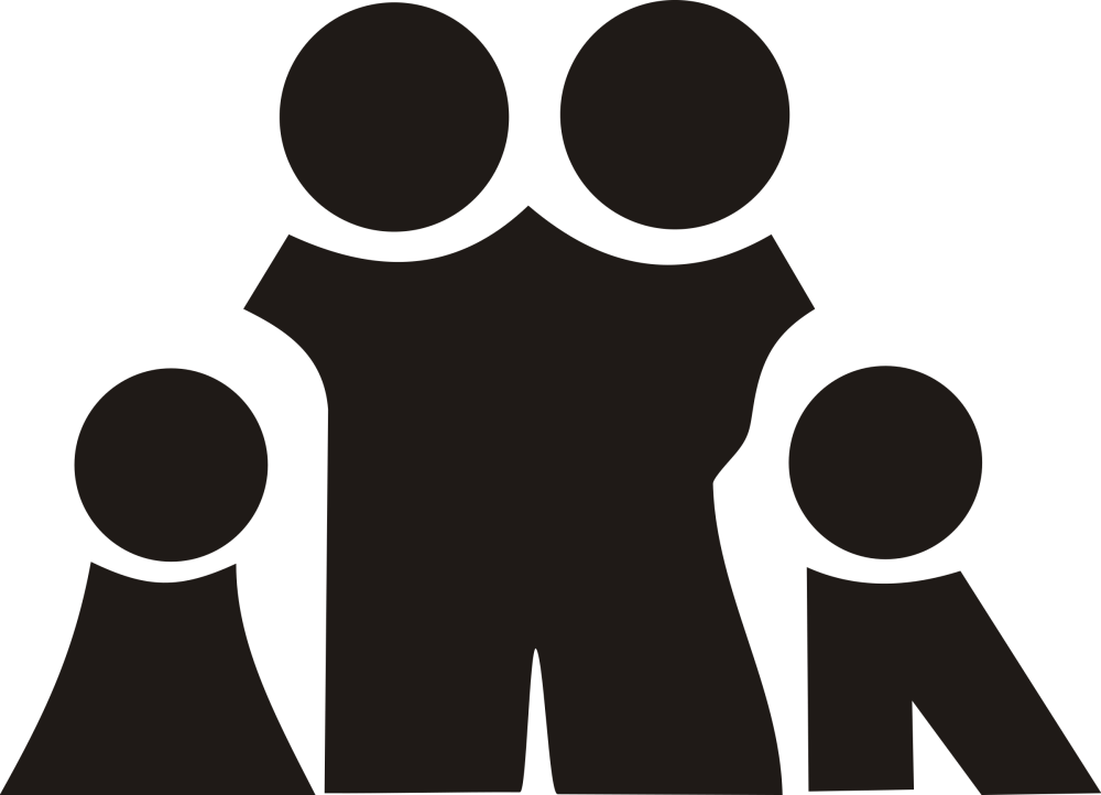 medium resolution of family black and white family clipart clipart club