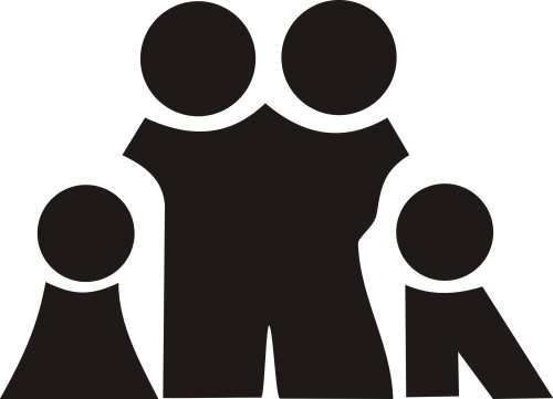 small resolution of family black and white family clipart clipart club