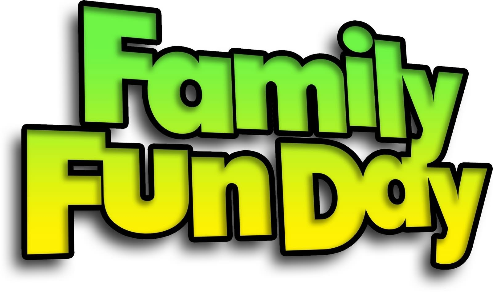hight resolution of family fun day border clipart