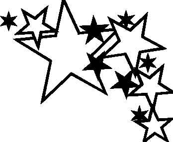fancy star outline clipart 20 free