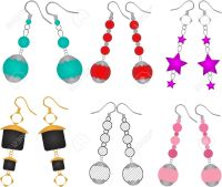 Fashion jewellery clipart