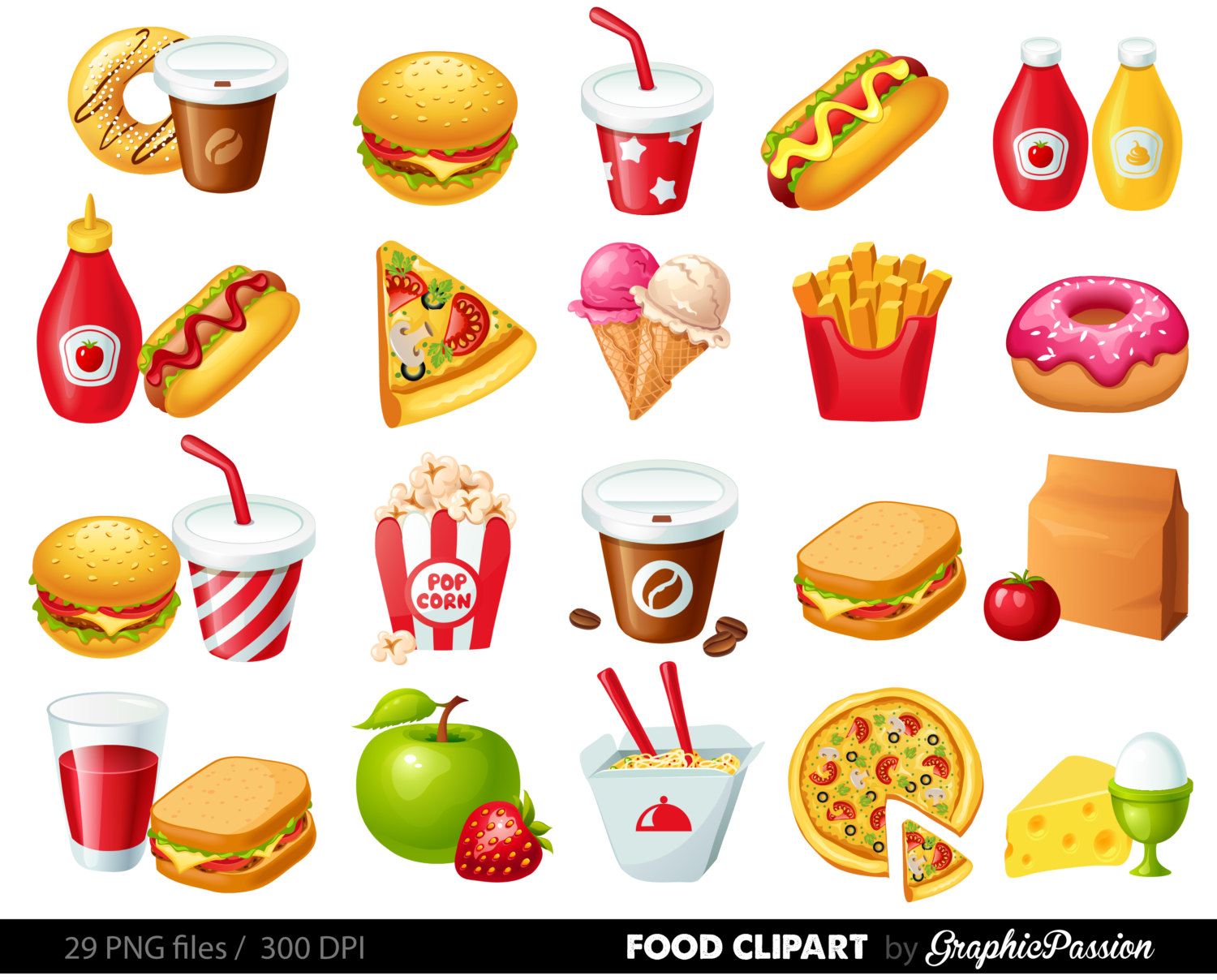 Junk Food Clipart 20 Free Cliparts