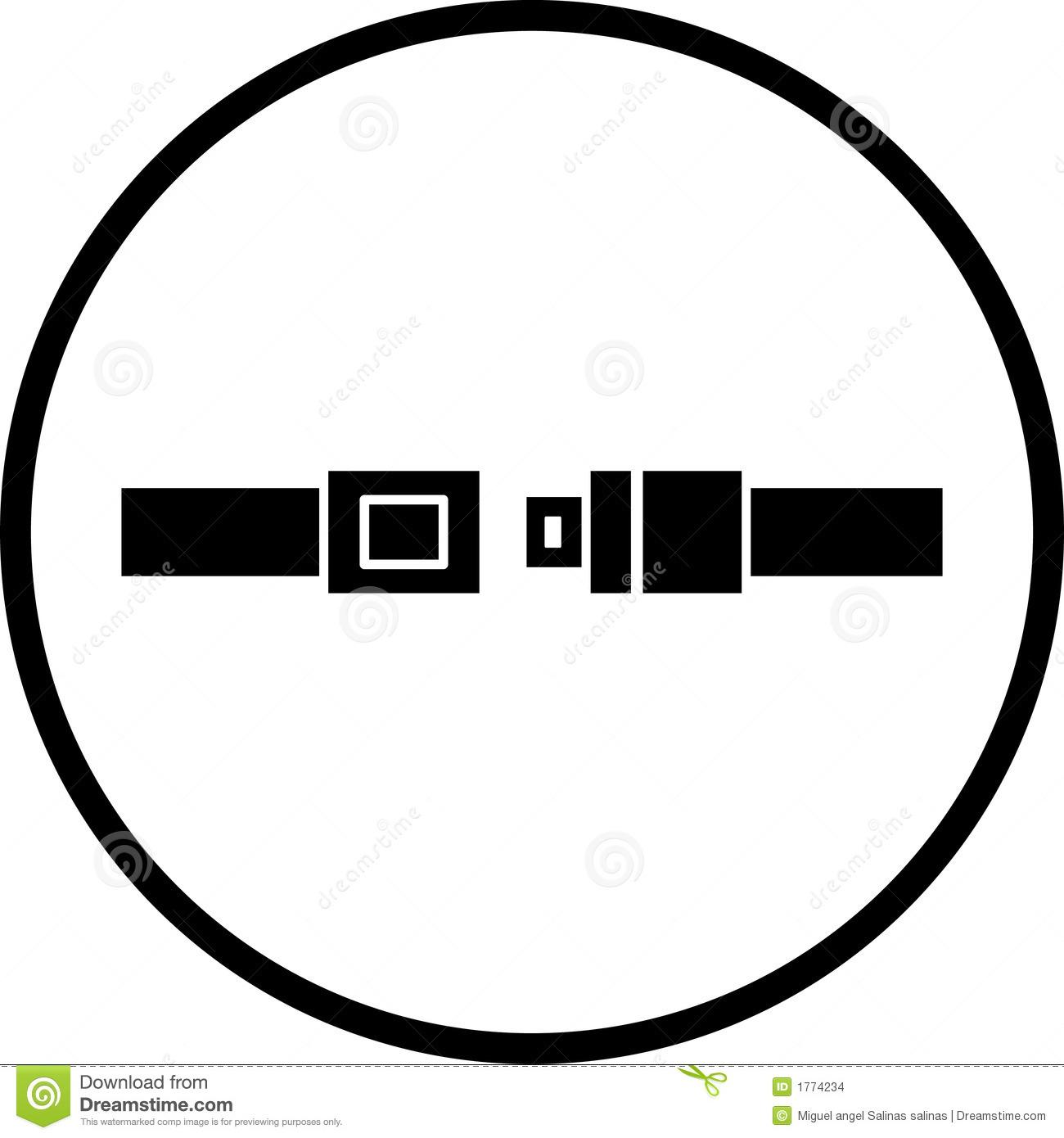 Fasten Seat Belt Clipart
