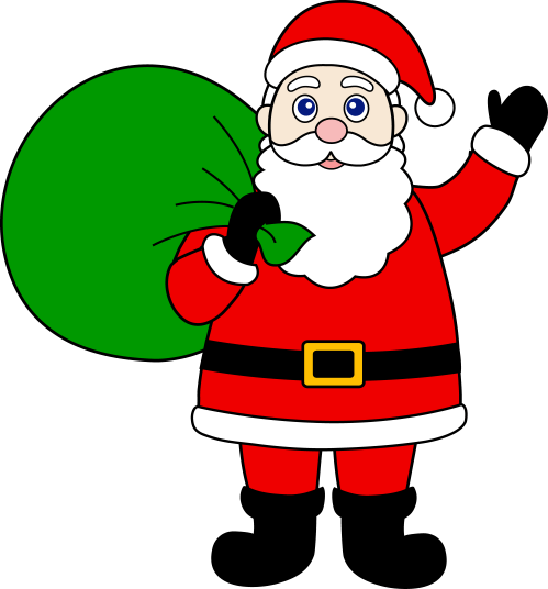 small resolution of father christmas clipart santa claus