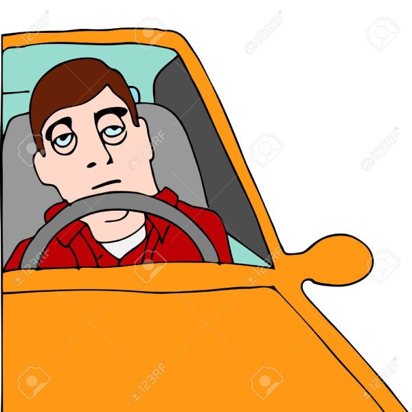 Drowsy Driving Clip Art