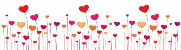 february hearts clip art - clipground
