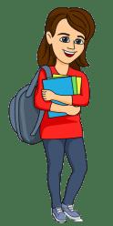 Cartoon University Student College Student