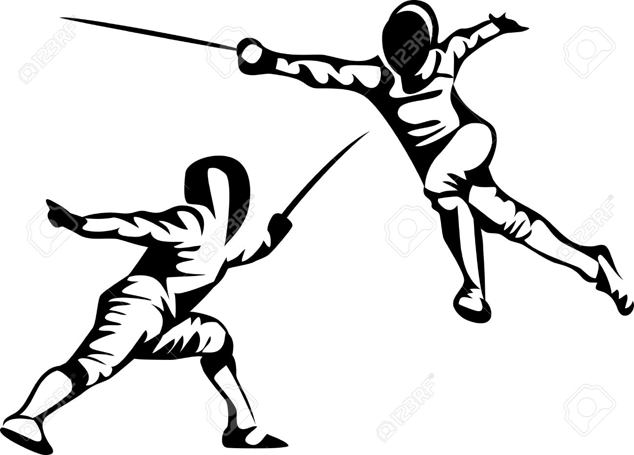 Fencer Clipart 20 Free Cliparts