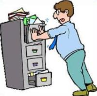 Filing cabinet clipart - Clipground