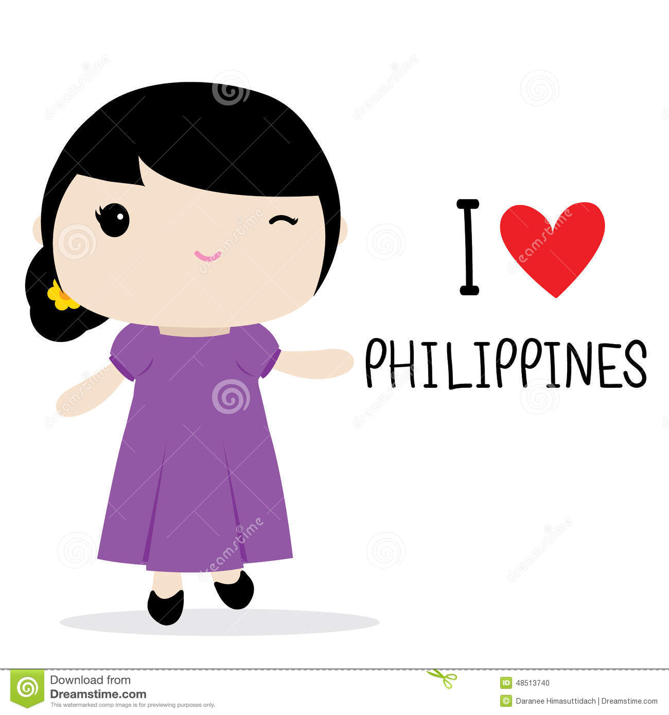 Cute Boy And Girl Cartoon Wallpaper Filipino Girl Clipart 20 Free Cliparts Download Images