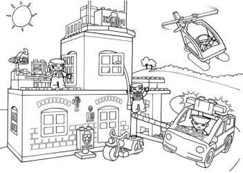 coloring lego station pages police fire printable drawing clipart castle create print badge drawings brigade own clip clipground getcolorings getdrawings