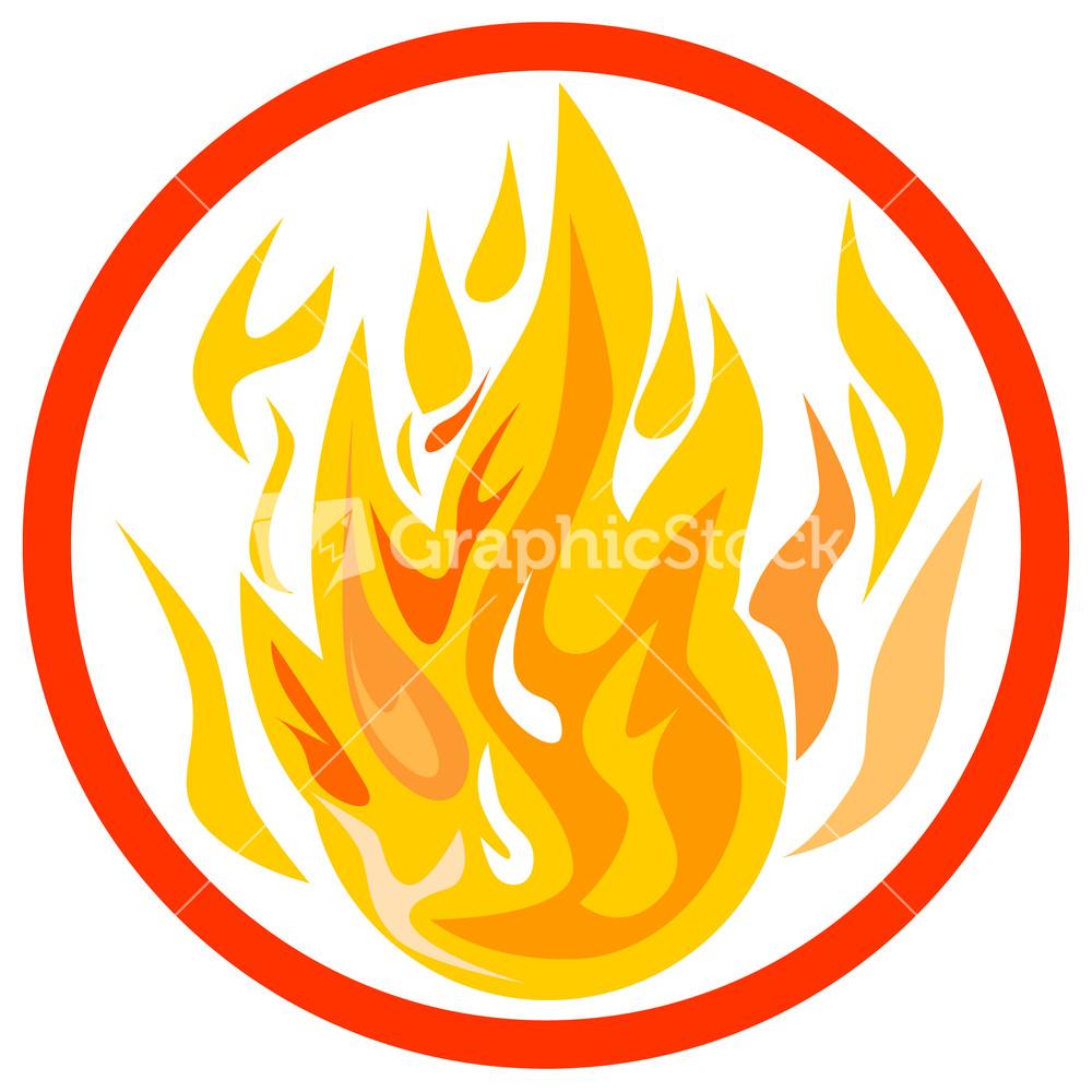 medium resolution of fire inside circle
