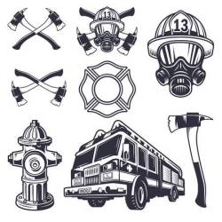 fire department clip vector clipground