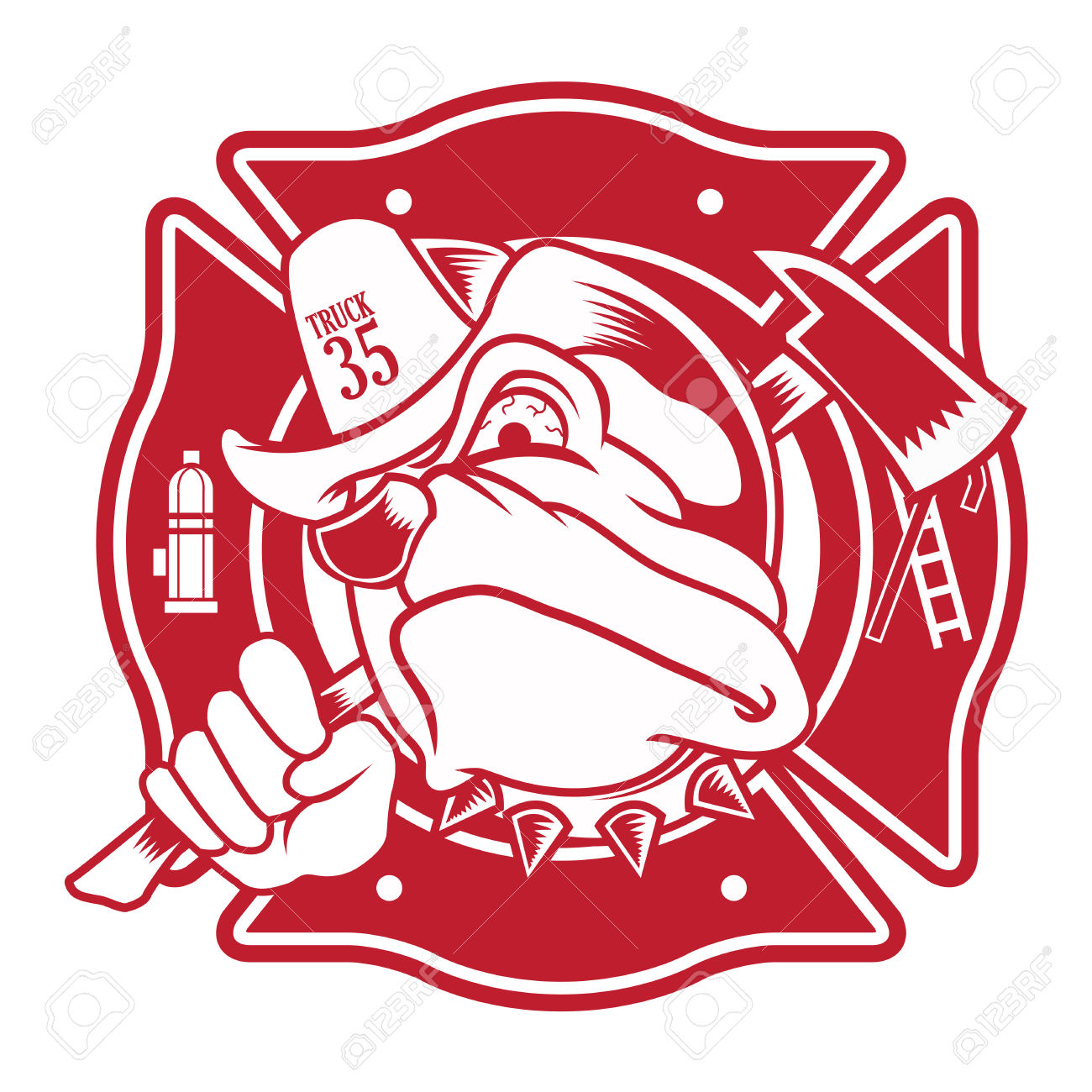 hight resolution of 5 001 fire department cliparts stock vector and royalty free fire