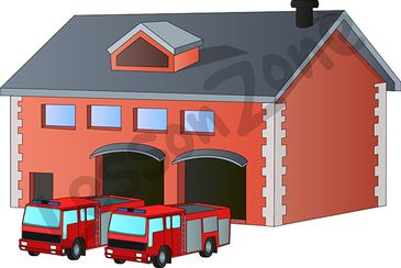 fire station clipart clip truck clipground