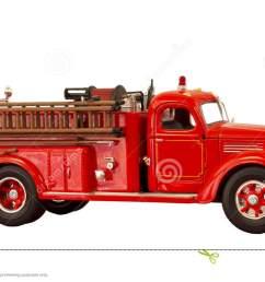 vintage fire truck clipart  [ 1300 x 776 Pixel ]