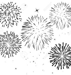 black and white fireworks [ 1300 x 1150 Pixel ]