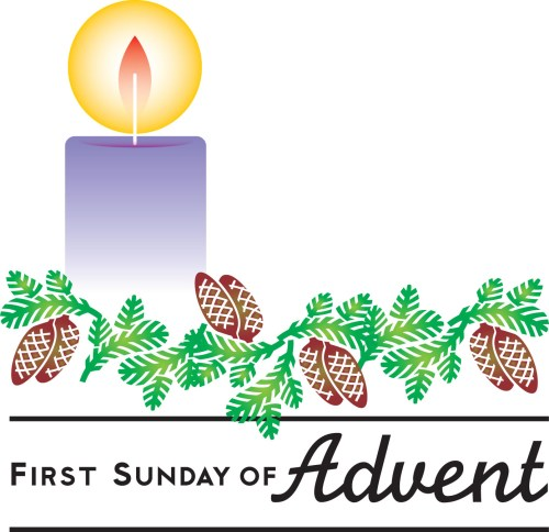 small resolution of 1st sunday in advent clipart