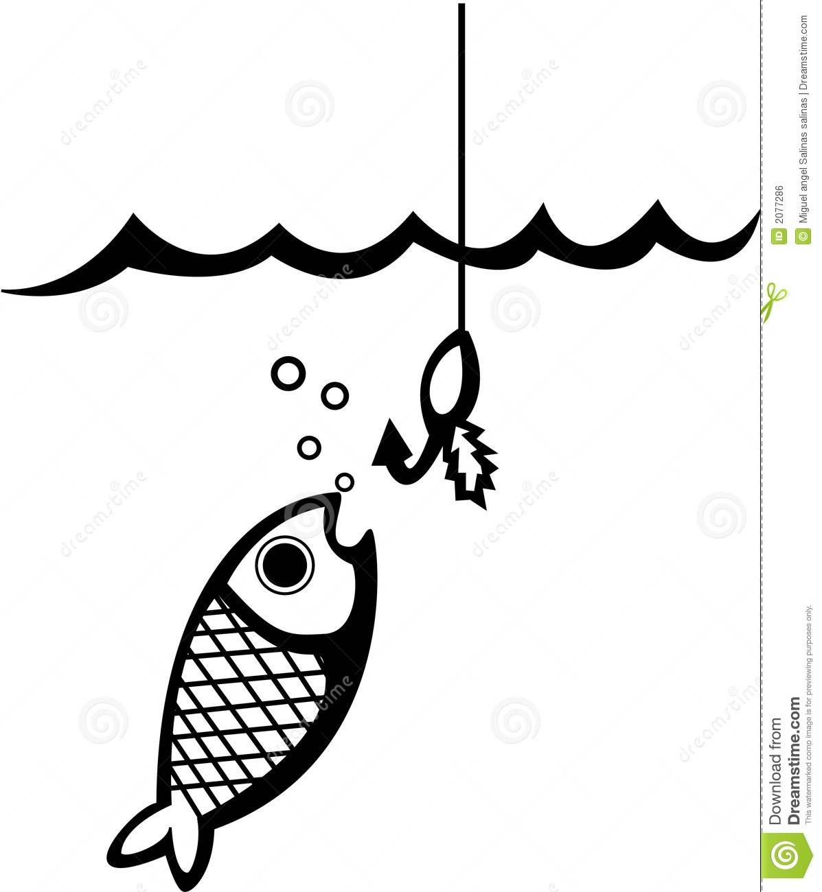 Fishing Scales Clipart