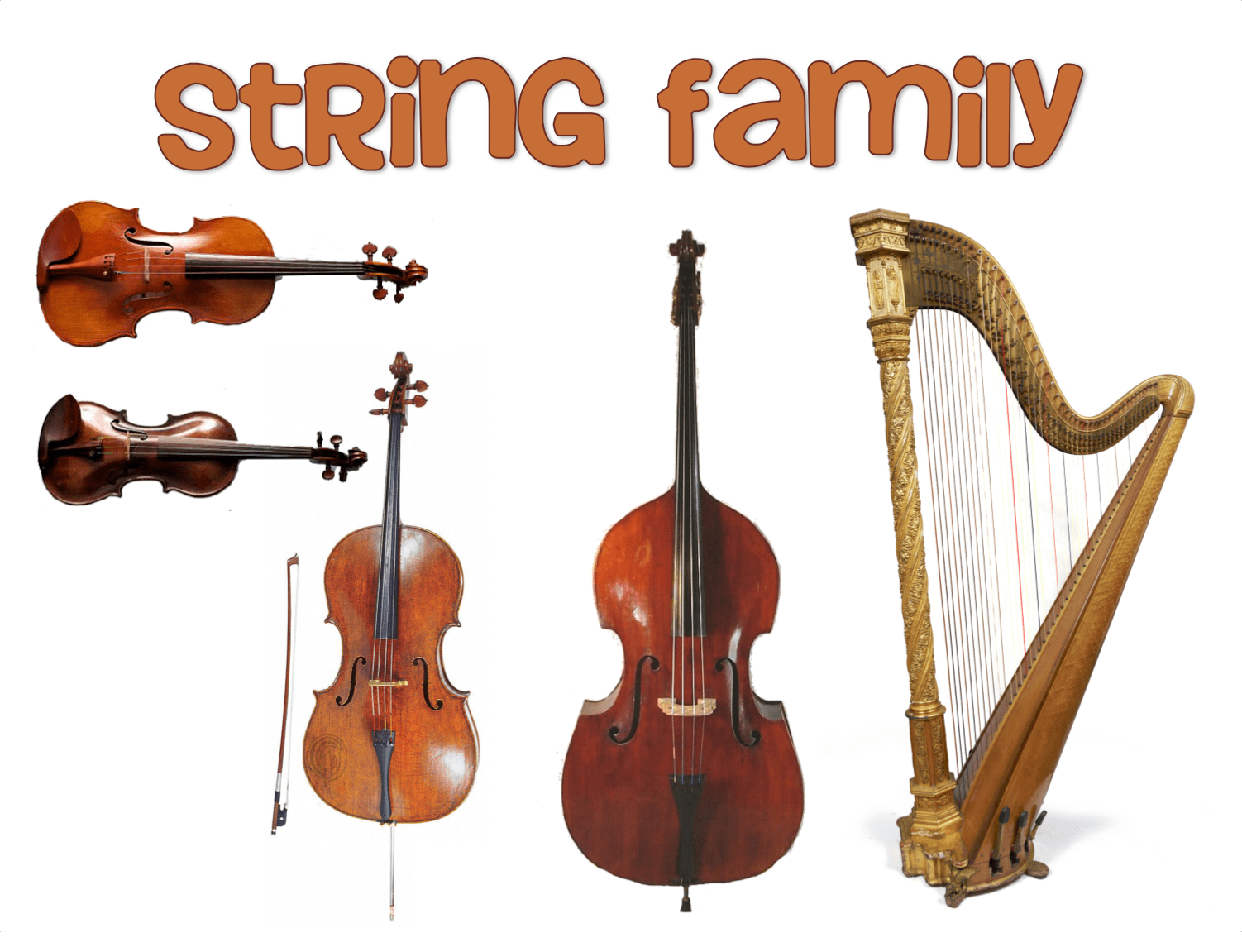 Stringed Instruments Clipart