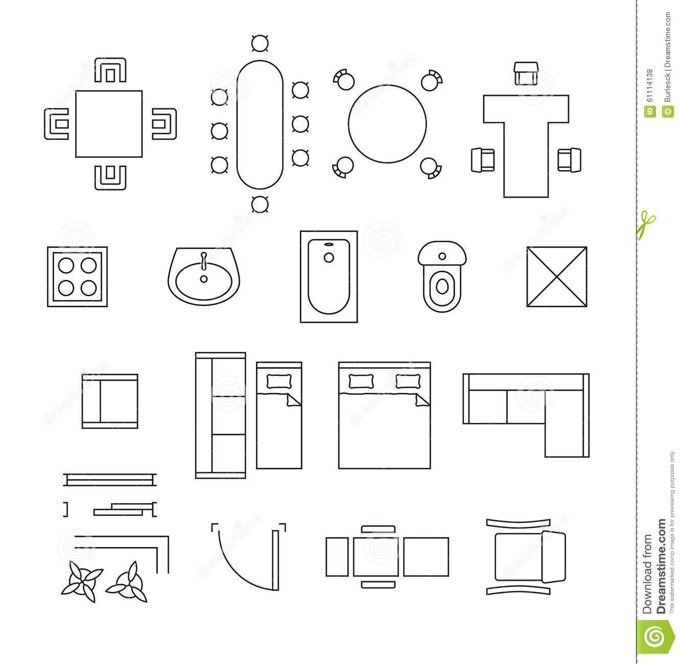 kitchen chair design plans folding reclining clip art floor plan symbols clipground
