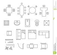 clip art floor plan symbols - Clipground