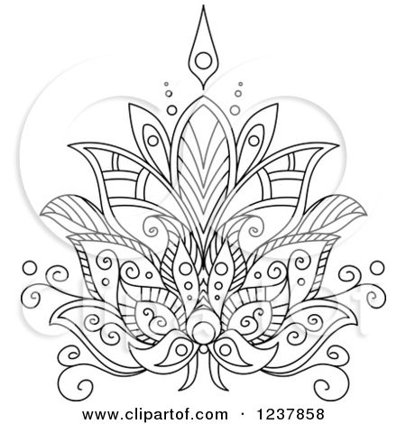 Floral Mandala Clipart Clipground