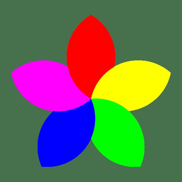 Small Petals Clipart - Clipground