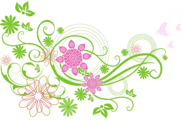 Flowers Of Early Spring Clipart