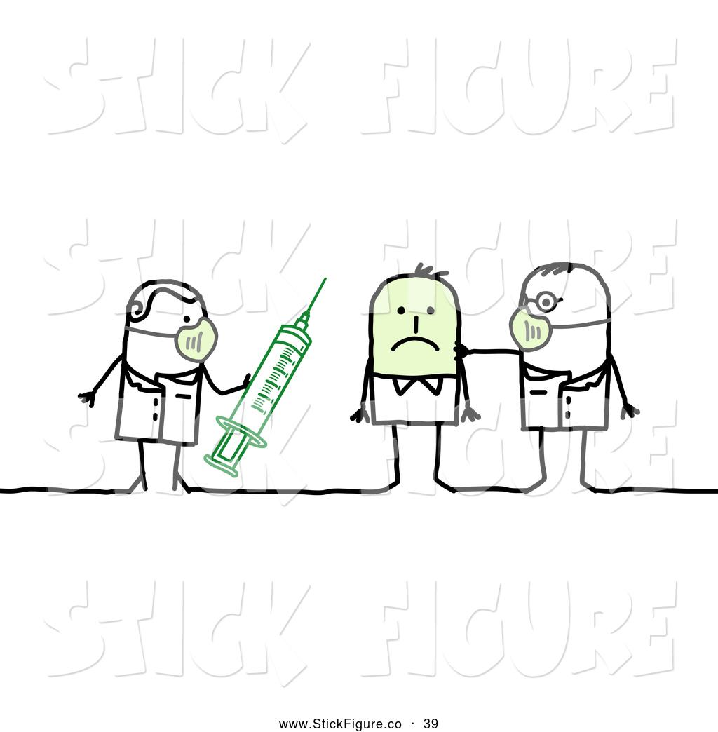 Flu Figure Clipart