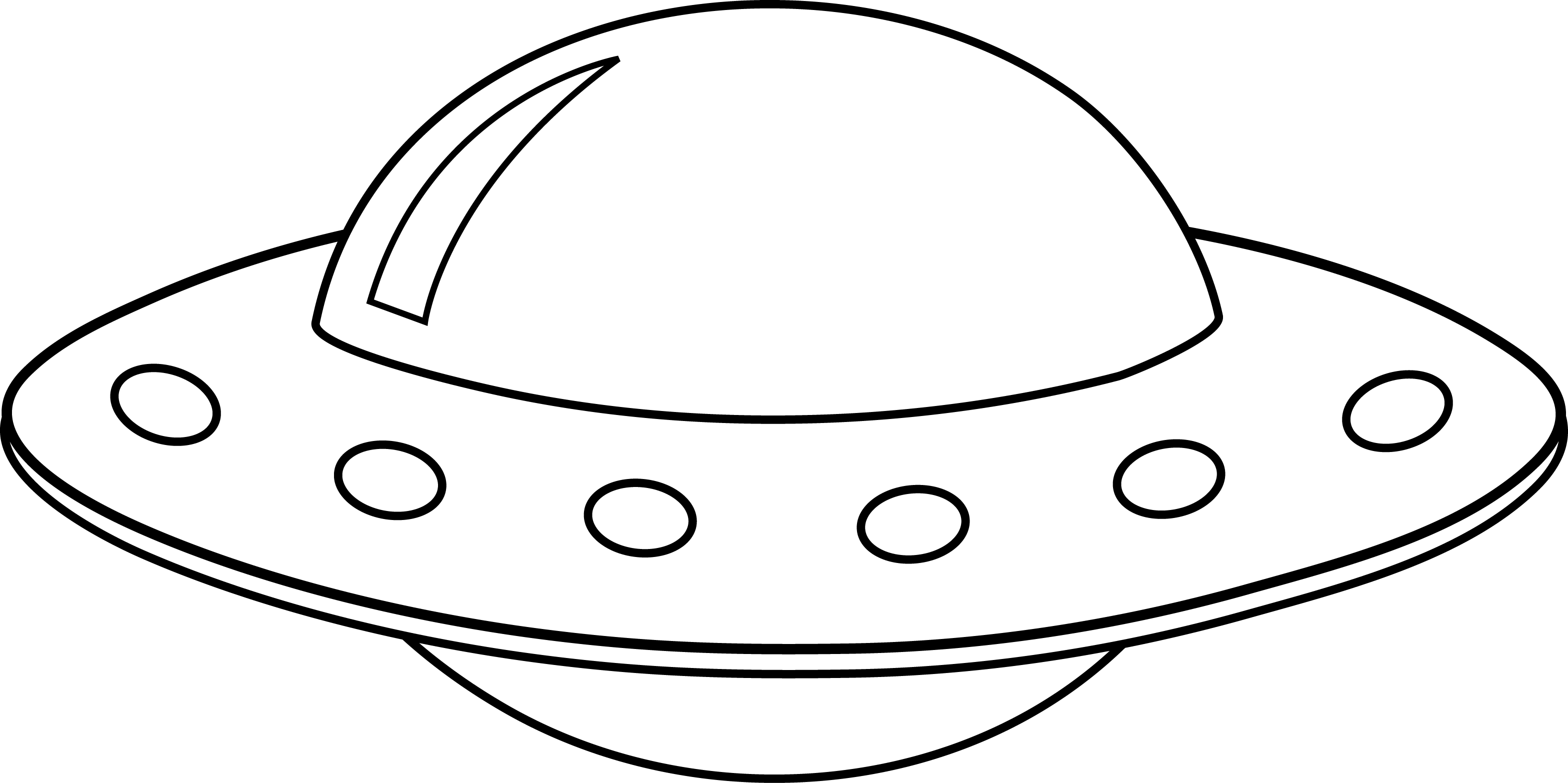 Unidentified Flying Object Clipart