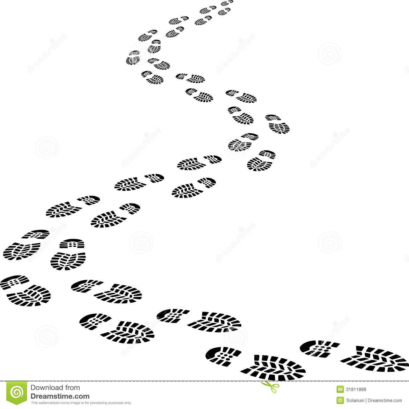 Footprints Clipart