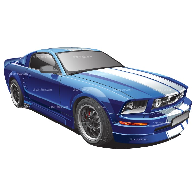 Muscle Free Car Clipart